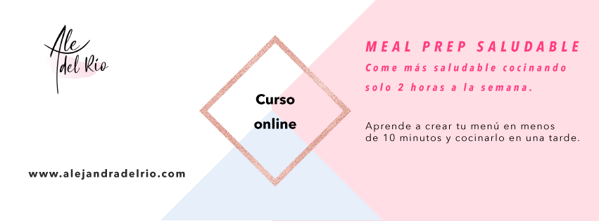 Curso meal prep saludable