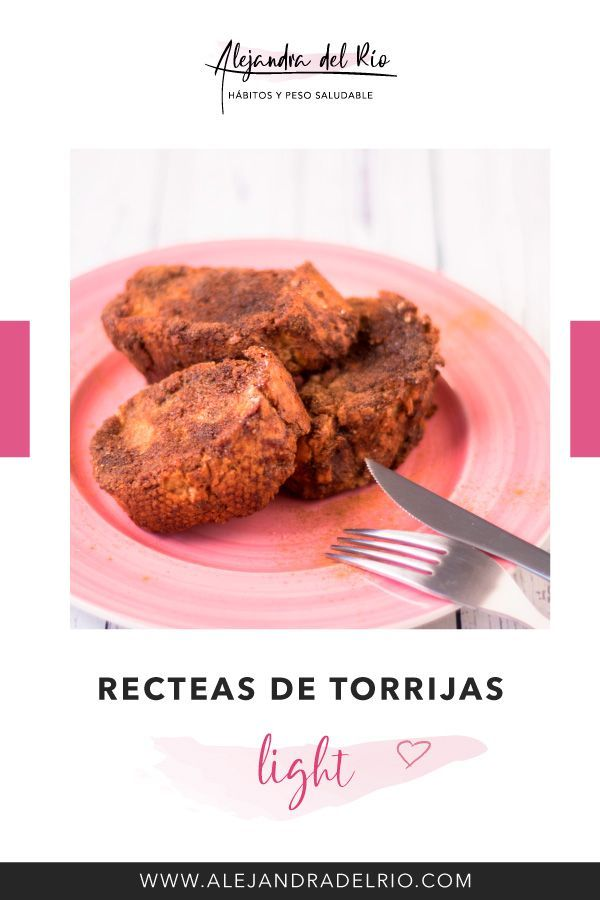 Receta de torrijas light #torrijas #recetasaludable