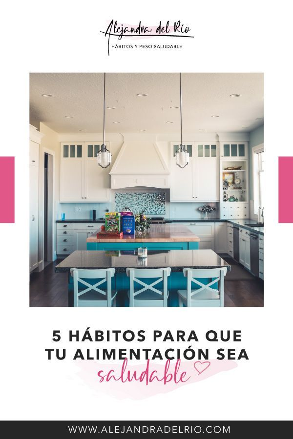 5 hábitos para que tu alimentación sea saludable #alimentacionsaludable #hábitossaludables #hábitos