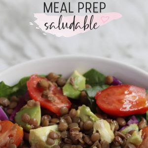 Recetario meal prep saludable